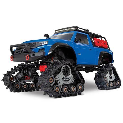 Traxxas TRX-4 mit All-TerrainTraxx blau RTR o. Akku/Lader 1/10 4WD Scale-Crawler Brushed + Extra- Reifen-Set (4)