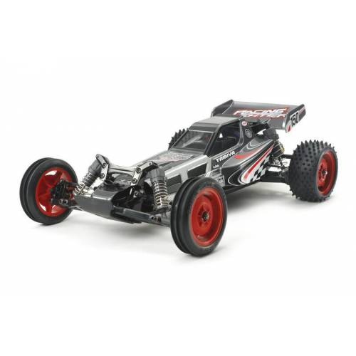 Tamiya 1:10 RC Rac. Fighter Black Chassis DT-03