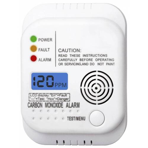 Smartwares® Kohlenmonoxid (CO) Warnmelder mit LCD Display - 2er Set