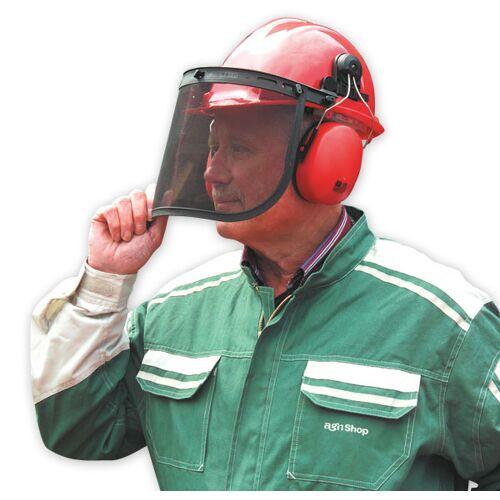 XerVex Schutzhelm mit Gesichts- und Gehörschutz