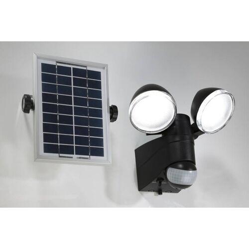 Wetelux Duo Strahler mit Solarpanel und Bewegungsmelder