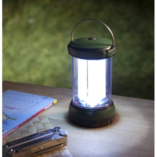 Wetelux LED Tischlaterne mit 6 LEDs und 3 Leuchtröhren