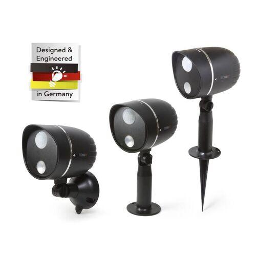 Technaxx Batteriebetriebe LED Außenleuchte mit PIR Bewegungserkennung