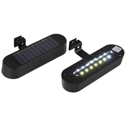 Solar LED Dachrinnenleuchte - 2 Stück