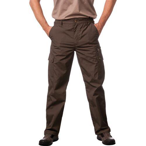Wisent Work Wear Outdoorhose mit wasserabweisender Beschichtung, oliv, Gr.48