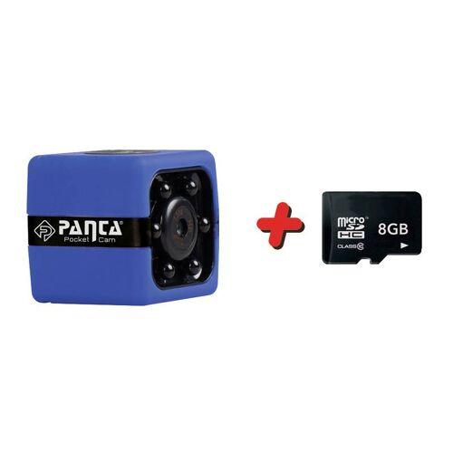 MediaShop Panta Pocket Cam HD Mini Kamera - GRATIS 8 GB Micro SD Speicherkarte