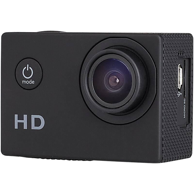 Smartwares® Full HD Actioncam mit 2 HD Monitor, IP 68 geschützt