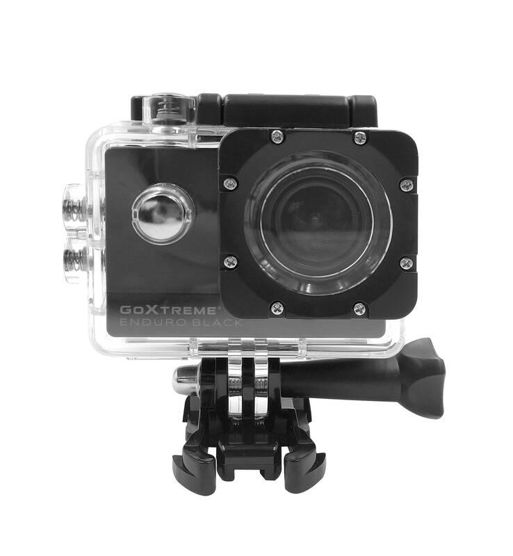 GoXtreme Actioncam Enduro Black, 170° Weitwinkel, Wasserfest bis 30m, 8MP Sensor
