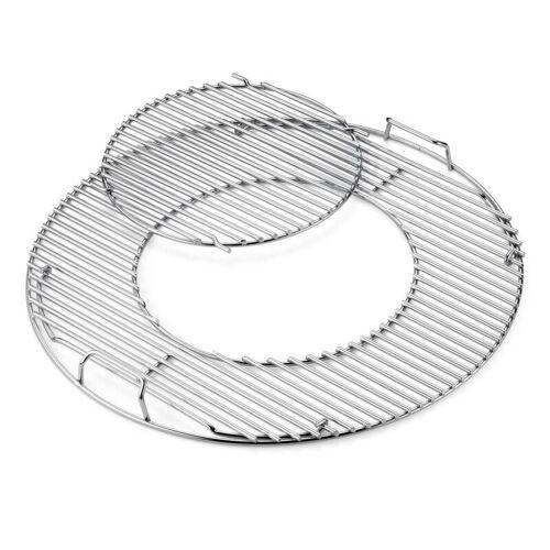 Weber Grillrost-Einsatz - Gourmet BBQ System für Holzkohlegrills mit 57 cm