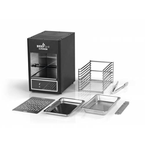 "Gourmet Maxx Elektro-Grill, Beef Maker ""E-Power"", Oberhitze, 7-teilig, 1600 Watt, Schwarz"