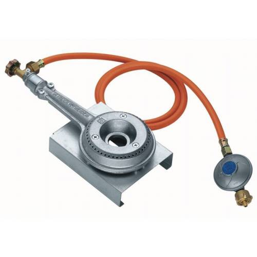 Peetz Gasheizung 4200 Watt für Räucheröfen, aus Aluguss