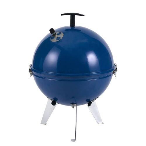 Tepro Mini-Kugelgrill Crystal blau