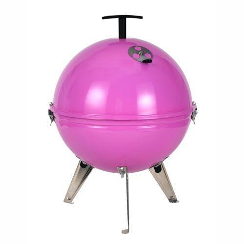 Tepro Mini-Kugelgrill Crystal pink