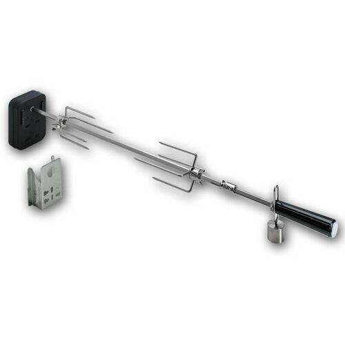 Moesta Rotisserie Set mit Batteriemotor - für: 47 und 50 cm Kugelgrill für Smokin# PizzaRing