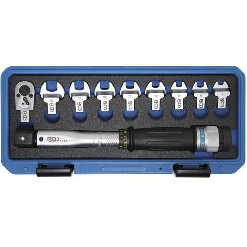 BGS Drehmomentschlüssel-Satz   6,3 mm (1/4)    6 - 30 Nm   10-tlg.