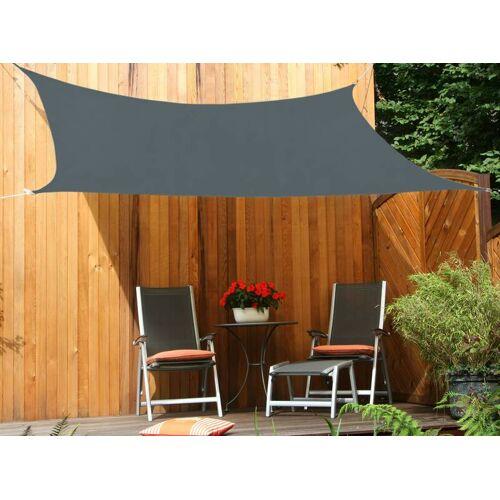 Peddy Shield Vierecksonnensegel HDPE weizen 250 x 300 cm Wind-u. Wasserdurchlässig