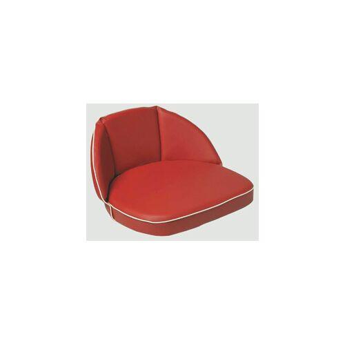 Westfalia Schlepper- und Traktoren Sitzkissen, 20 cm Rücken, rot, Riemen