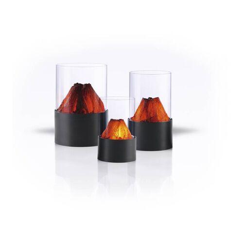 Easymaxx LED Licht mit Kaminfeuer-Effekt - im 3er Set
