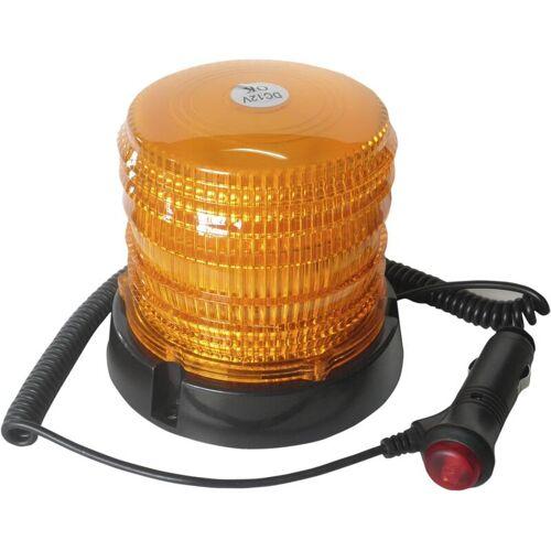 LED - Rundumkennleuchte 12/24 Volt orange mit Magnetfuß