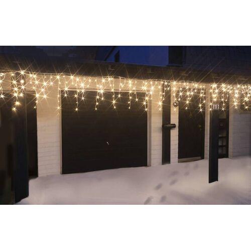 Westfalia Eisregen Lichterkette mit 240 kaltweißen LED - Länge 6 m