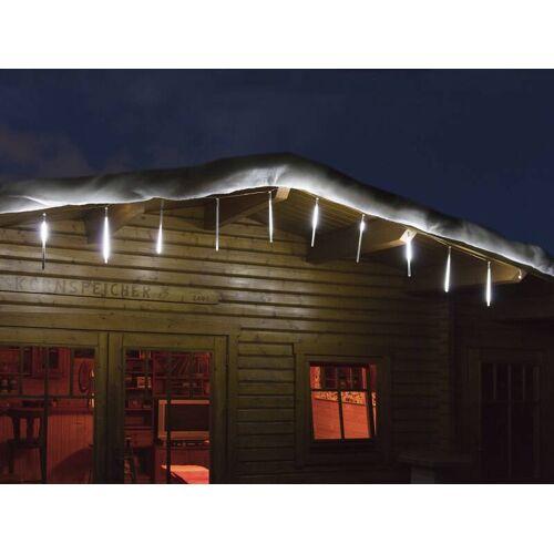 Westfalia LED Snowfall Lichterkette mit 10 Stäben für den Innen- und Außenbereich