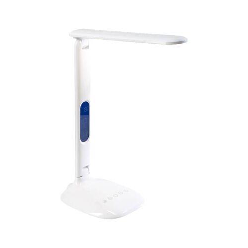 GENIE Klappbare LED-Leselampe mit LCD-Anzeige Uhrzeit, Datum, Kalender ..