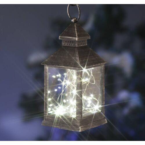 Laterne mit Mini-Lichterkette