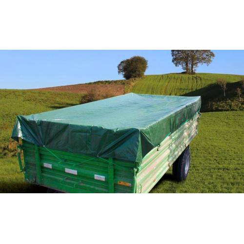 Westfalia PolyTarp® 650 PVC-Abdeckplane, 10 x 12 m grün