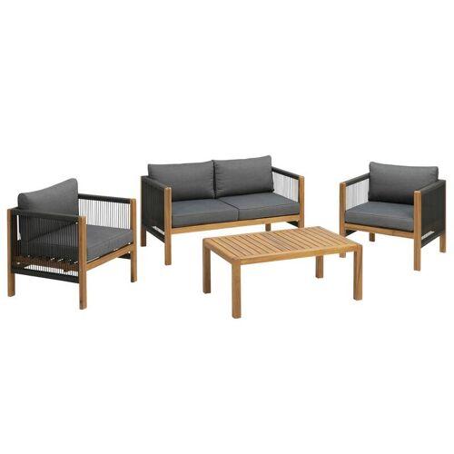 greemotion Gartenmöbel-Lounge-Set Abaco