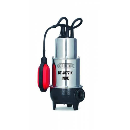ELPUMPS Abwasserpumpe mit Schneidw. BT4877K INOX