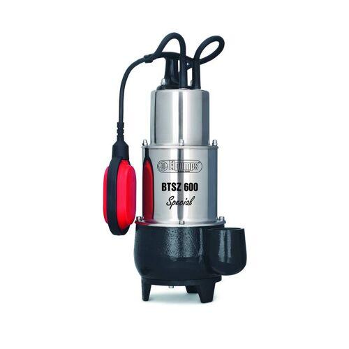 ELPUMPS Abwasserpumpe Vortex BTSZ 600 Special