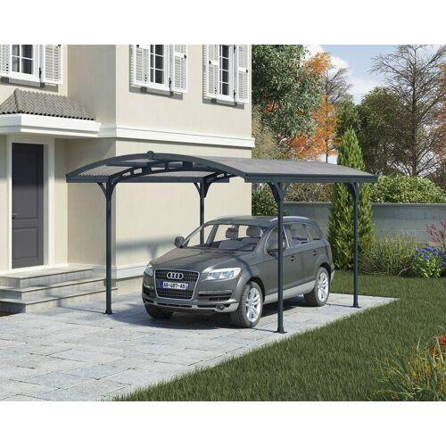 Palram Aluminium Carport Atlas 5000 inklusive Regenrinnen