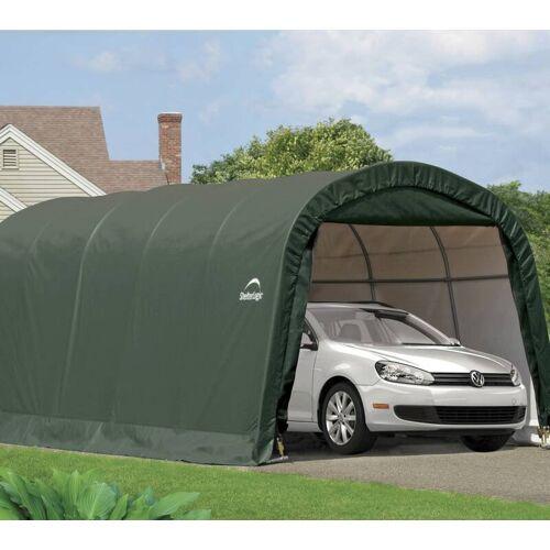 Shelter-Logic Foliengerätehaus 18,3 m², grün, 300 x 610 cm