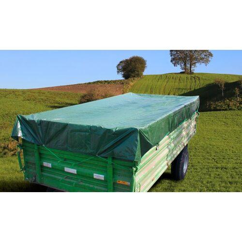 Westfalia PolyTarp® 650 PVC-Abdeckplane, 6 x 10 m grün