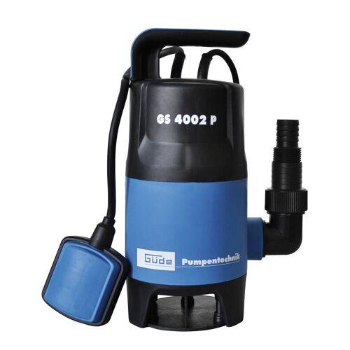 Güde Schmutzwasser - Tauchpumpe GS 4002 P, 400 Watt