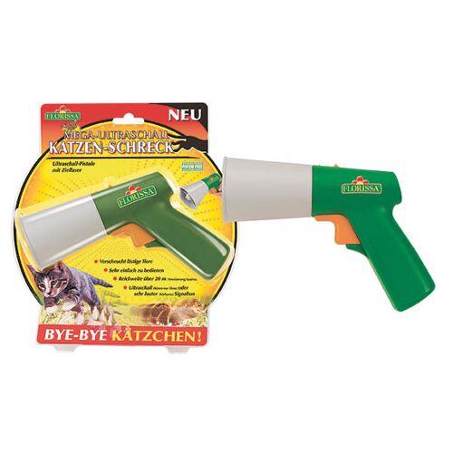 Florissa Katzen- und Hundeschreck mit Ziellaser, Ultraschall Pistole - 1 St.