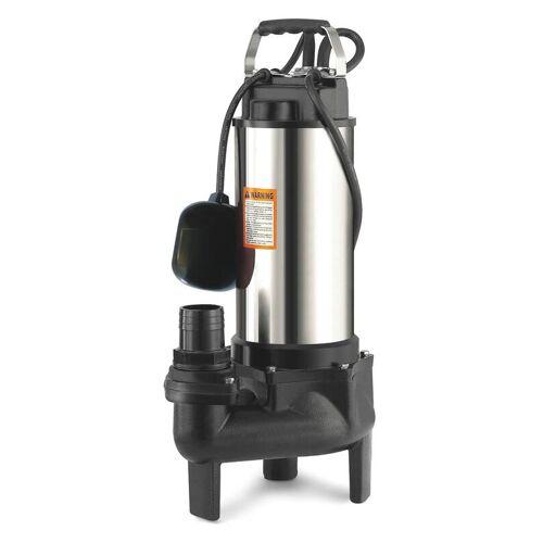 Ribimex Guss Tauchpumpe Vortex 750 - geeignet für Schmutzwasser und Abwasser