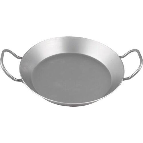 CHG Eisen-Pfanne mit Griffen oval, 37,5 cm