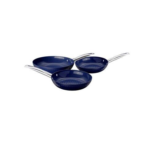 Ceraflon Pfannen-Set Prestige, Diamant-Beschichtung, Blau, 3-teilig