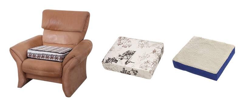 Garantia Komfort Sitzkissen/ Aufstehhilfe, Farbe: Blau