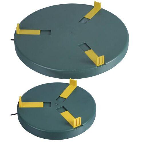 Tränkenwärmer Ø 20cm, 24V DC/ 12W + 230V AC  24V DC Adapter (1.0 Ampere)