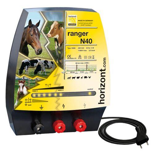 Horizont Weidezaungerät ranger N40 230 Volt mit 2 Zaunausgängen