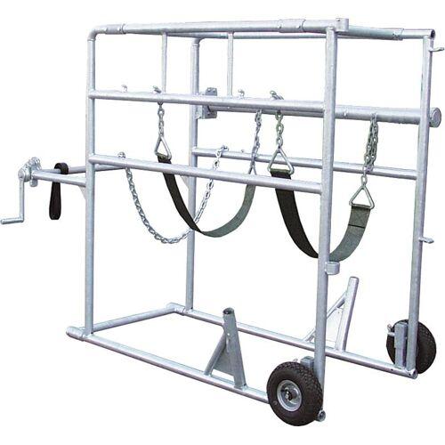 Westfalia Klauenpflegestand Compact-Stall, 2 Räder