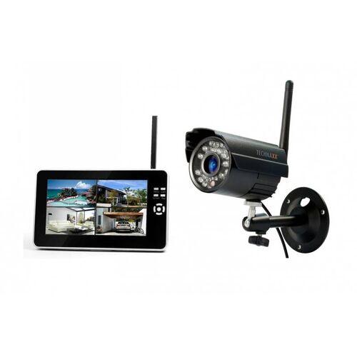 Technaxx Digitales Outdoor-Funkkamerasystem mit Aufnahmefunktion