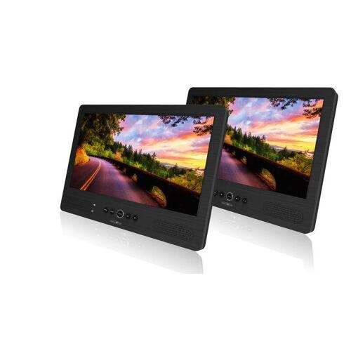 Reflexion Portabler DVD-Player mit 10 LCD-Bildschirm + zweitem Bildschirm.