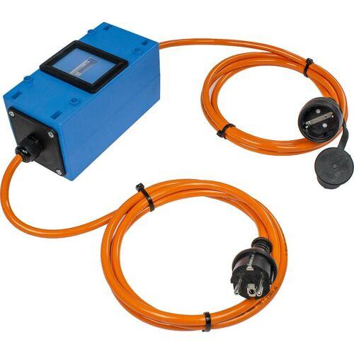 AS Schwabe Stromzähler Mixo 2x1,5m, 230V, mit Personenschutzschalter 30mA, MID geeicht