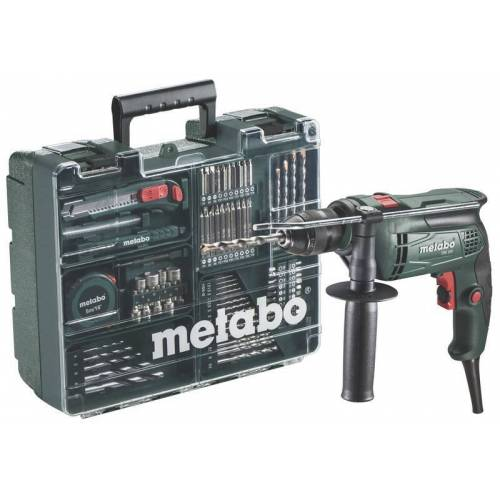 Metabo Elektronik Bohrmaschine SBE 650 Set, 650 Watt