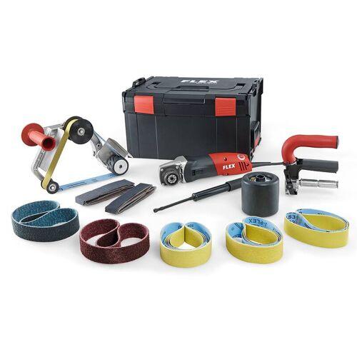 Flex Satiniermaschine und Rohrbandschleifer TRINOXFLEX im Set BSE 14 - 3 230/CEE