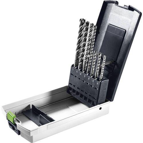 Festool Hammerbohrer SDS-Set D5-D12/7 für Akku-Bohrhämmer BHC 18 und alle anderen Bohrhämmer mit SDS-Plus Aufnahme