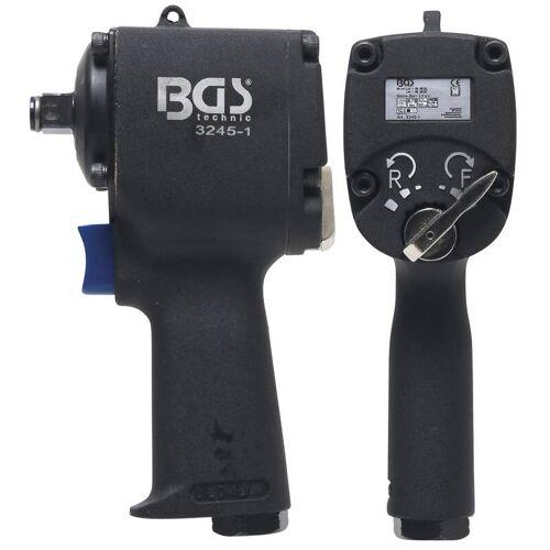 BGS Druckluft-Schlagschrauber   12,5 mm (1/2)   678 Nm   extra kurz 98 mm